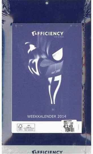 Weekkalender Efficiency 2021