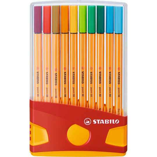 Stabilo Fineliner Point 88 20 stuks
