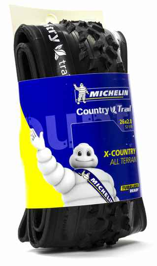 """Buitenband 26"""" Michelin Country Trail TLR 52-559 Vouwband Zwart"""