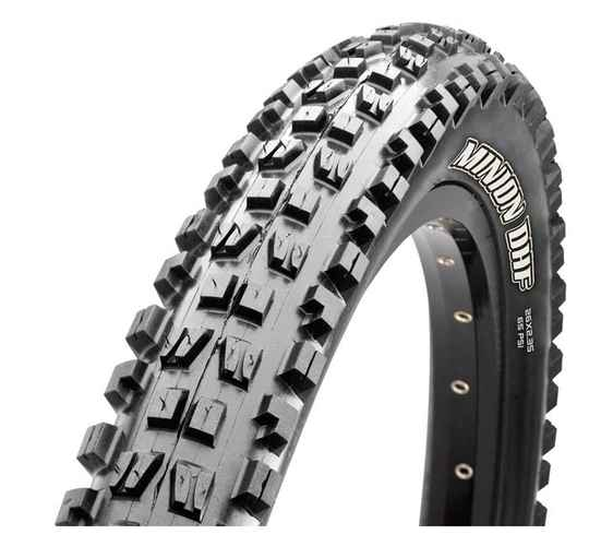 """Buitenband 27.5"""" Maxxis Minion DHF TLR 63-584 3C EXO Vouwband Zwart"""