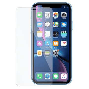 iPhone XR/11 NuGlas glazen screenprotector