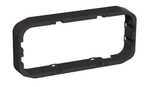 FUSION PS-A43SPB, PANEL-STEREO SURFACEMOUNT SPACER, 43MM, BLACK