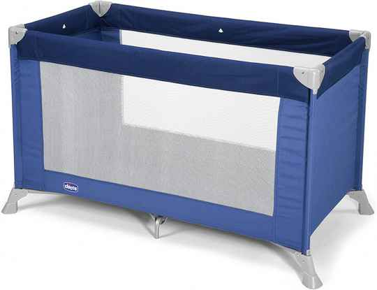 icco campingbed junior 122 x 63 x 76 cm polyester