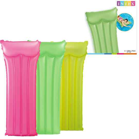 INTEX LUCHTBED NEON FROST 183X76CM