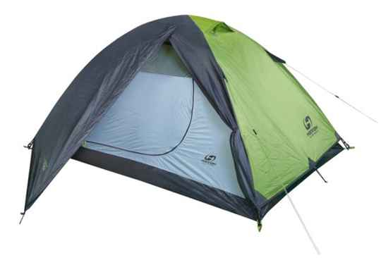 Hannah tent Tycoon 2 2-persoons 240 cm polyester groen/grijs