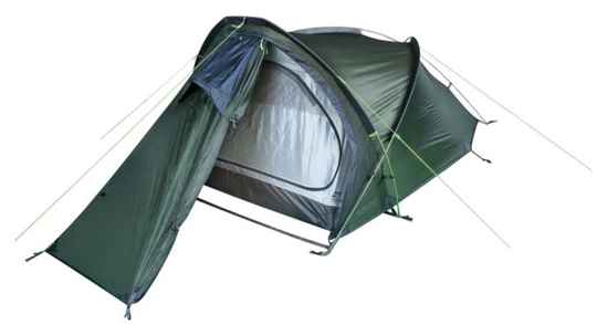 Hannah tent Rider 2 2-persoons 300 cm polyester donkergroen