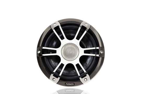 FUSION V2 SG-CL77SPC 7.7'' SPEAKERS 2WAY SIGNATURE CHROME SPORT GRILL LED