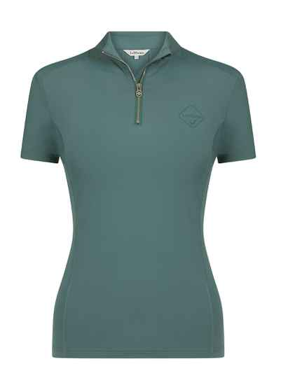 NEW LeMieux Short Sleeve Base Layer Sage