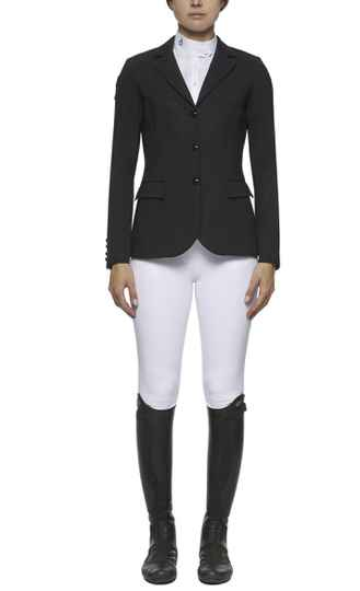 Cavalleria Toscana competition riding jacket Black