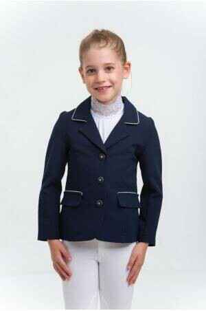 Cavalliera Show Jacket Crystal Purity Kids Blue *