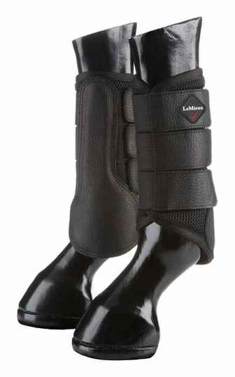 Le Mieux Mesh Brushing Boots Black *