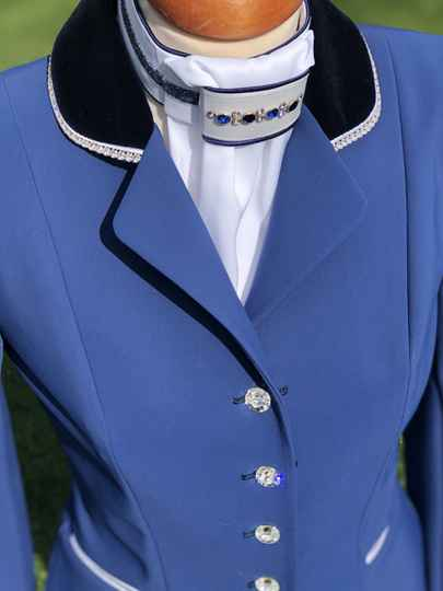 Competition Jacket Sportive Clear Blue