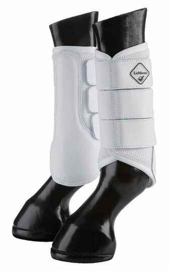 Le Mieux Mesh Brushing Boots White *