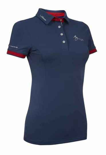 Le Mieux Polo Shirt Navy-Red **