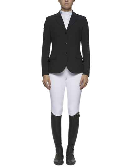 CT Competition Riding Jacket with Piping Black