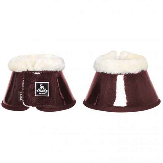 Hollywood Glamorous Bell Boots Show Raspberry