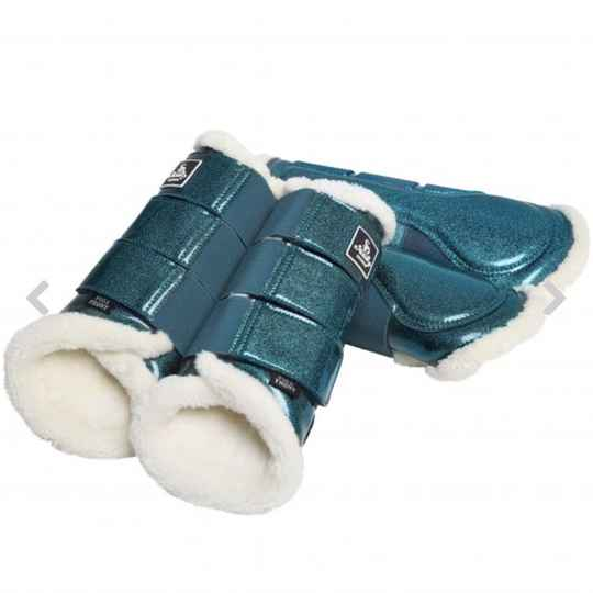 Hollywood Glamorous Dressage Boots Blue Berry Twinkle