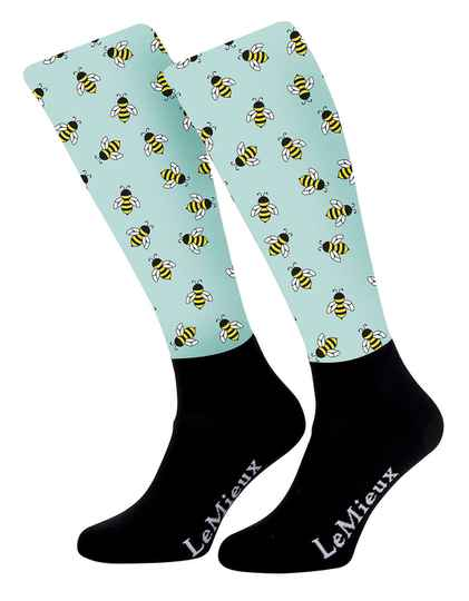 LeMieux Footsies Socks Bumblebee JUNIOR