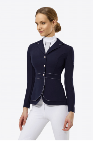 Cavalliera Riding Show Jacket Prime Blue