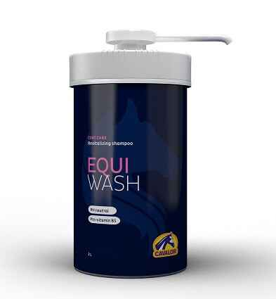 Cavalor Equi Wash 2000ml Pot + Pomp