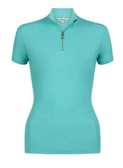 NEW LeMieux Short Sleeve Base Layer Azure
