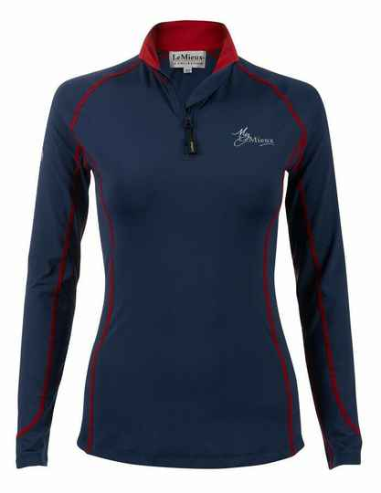 Le Mieux Base Layer Navy/Red *