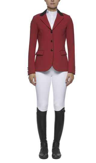 Cavalleria Toscana competition riding jacket Red