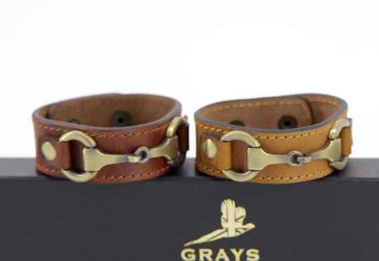 Equestrian Bracelet Leather two colors