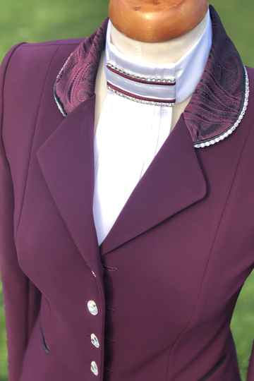 Competition Jacket Bordeaux limited Edition Burgundy