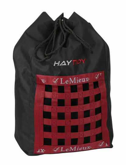Le Mieux Hay Tidy Bag Black-Red
