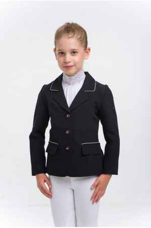Cavalliera Riding Show Jacket Crystal Purity Kids Black