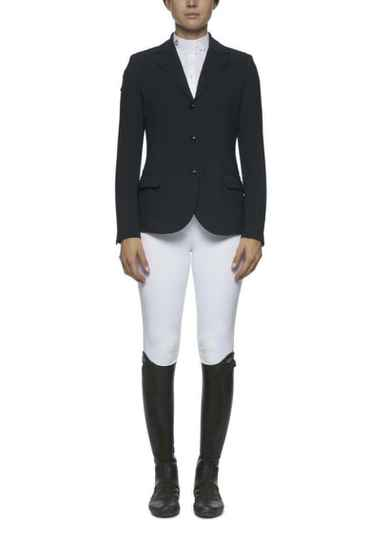 CT Competition Riding Jacket With Piping Navy **