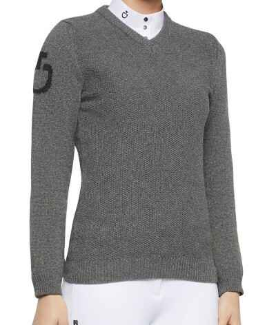 Cavalleria Toscana V-Neck Stitch Sweater