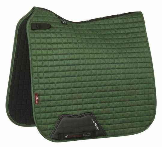 Le Mieux Luxury Dressage Square Hunter Green *