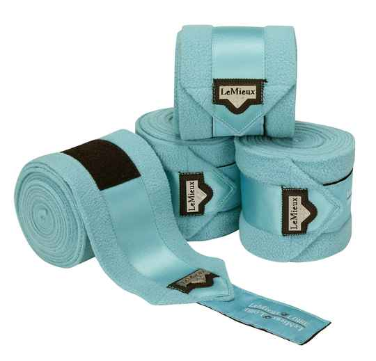 NEW LeMieux Luxury Polo Bandages Azure