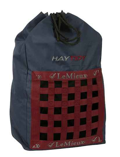 Le Mieux Hay Tidy Bag Navy-Red