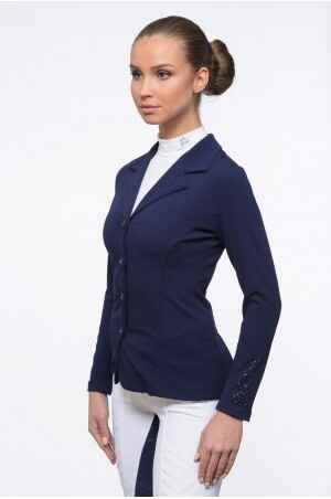 Cavalliera Riding Show Jacket Superior Blue