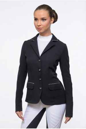 Cavaliera Riding Show Jacket Crystal Purity Black