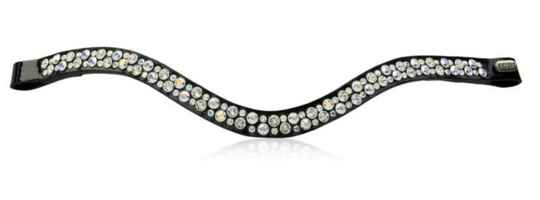 Judi Frontriem-Browband Famous II Odessa Double Crystal AB *