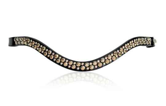 Judi Browband Famous II Odessa Double rose gold AB **