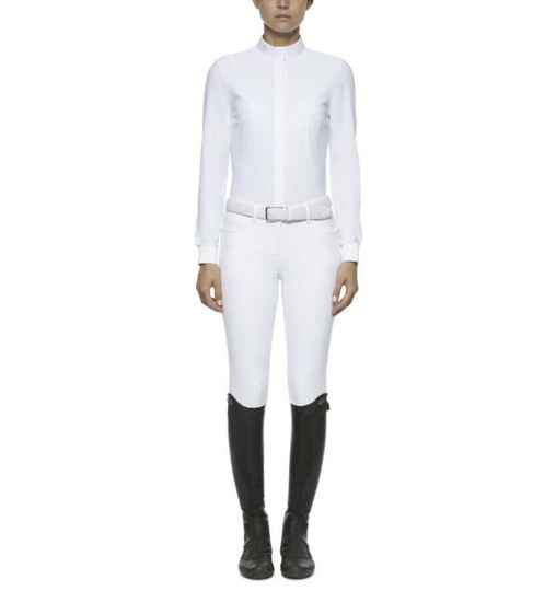 Cavalleria Toscana Long Sleeved Competition Shirt **