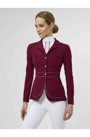 Cavalliera Riding Show Jacket Prime Bordeaux