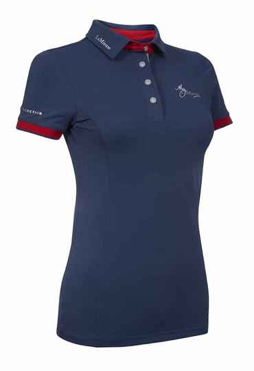 LeMieux Polo Shirt Navy-Red