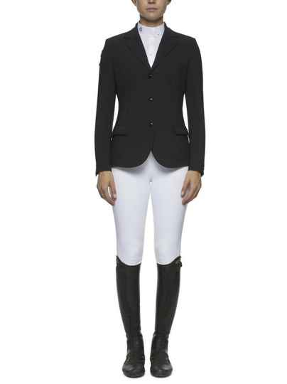 CT Competition Riding Jacket with Piping Black **