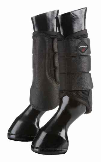 Le Mieux Mesh Brushing Boots Black