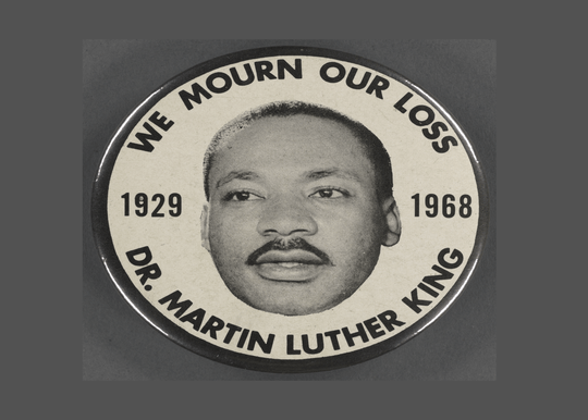 Martin Luther King Postcard