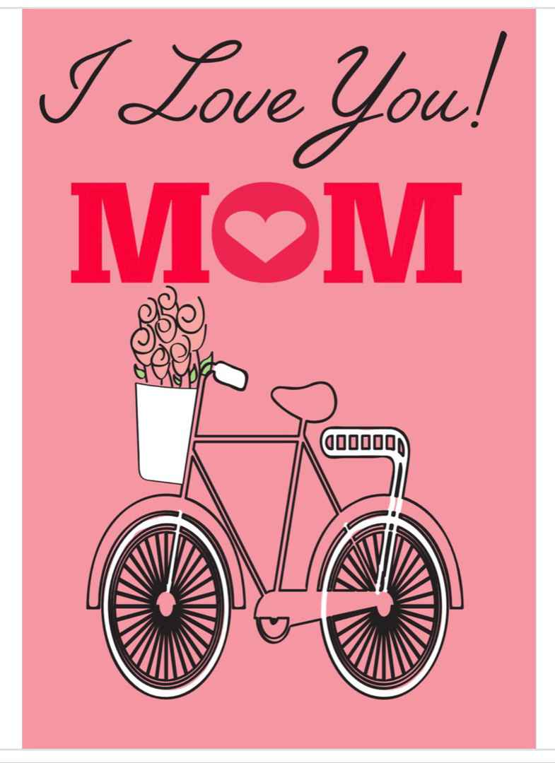 Mom note card