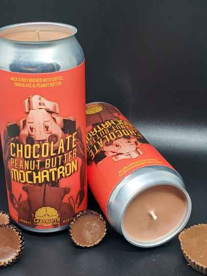 Chocolate Peanut Butter Mochatron CANdle