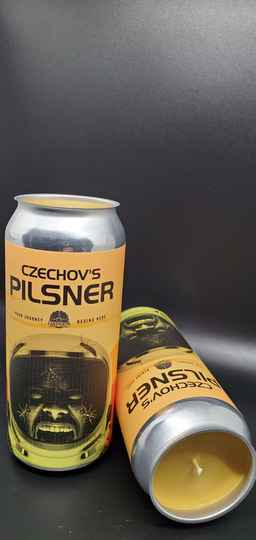 Czechov's Pilsner CANdle