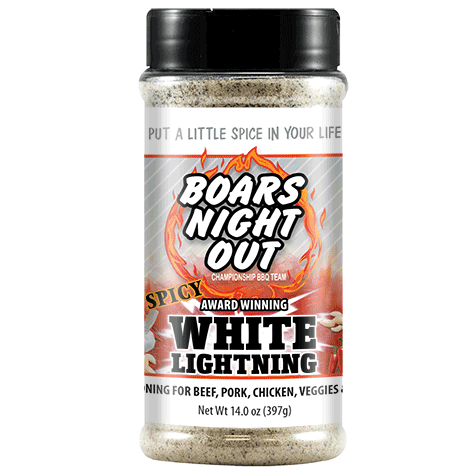 Spicy White Lightning | Boars Night Out
